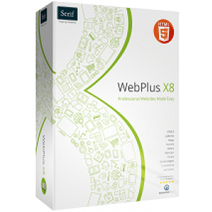 Serif WebPlus X8 (download) English language